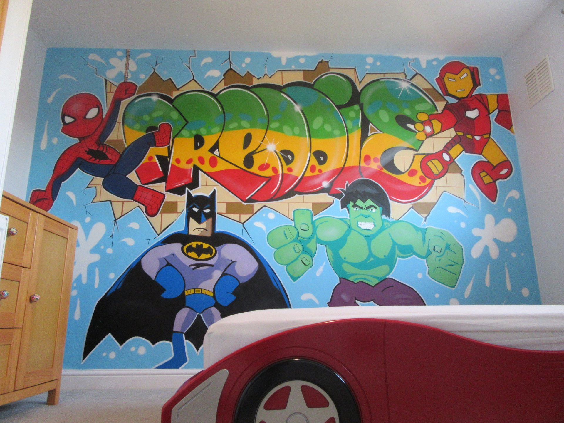 Kids Bedroom Graffiti bedroom wall graffiti murals