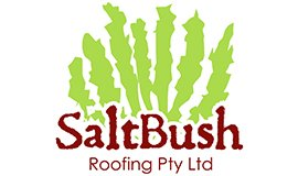 saltbush roofing business logo