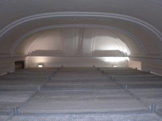 soppalco per restauro volta monumentale