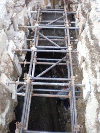 puntone per scavi