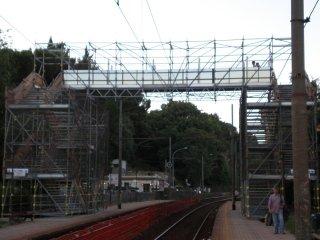 cavalcavia di scavalco ferroviario