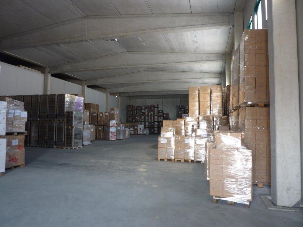 stoccaggio in magazzino