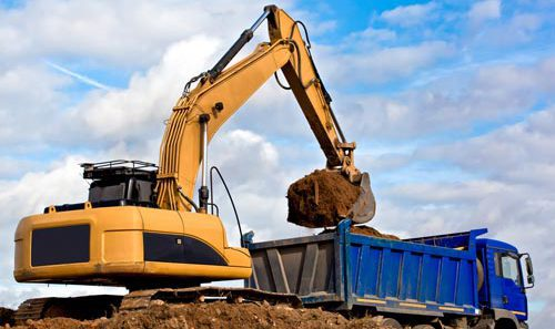 Superior excavating services to dump sand in Branson, MO