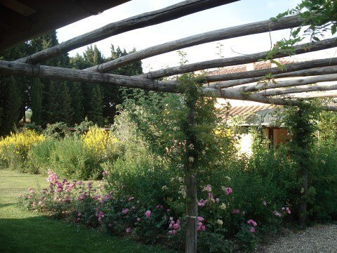 Personalized gardens in Chianti