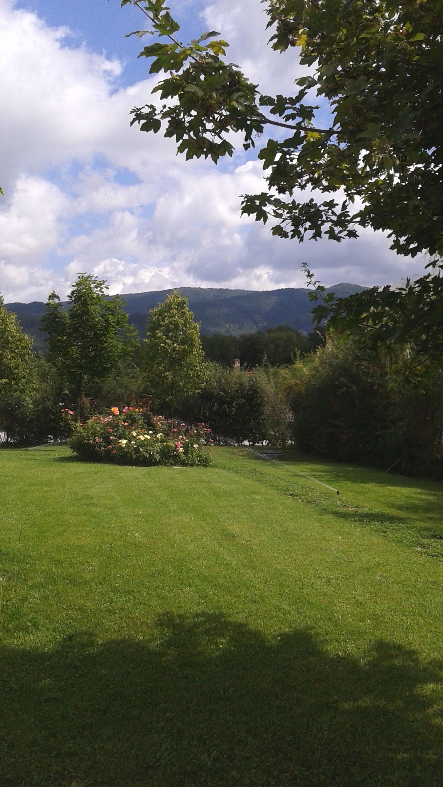 angolo di giardino privato