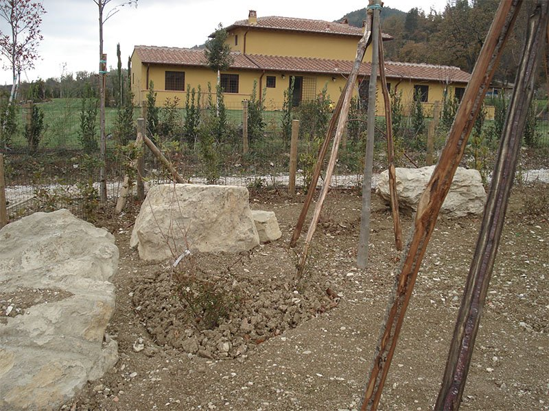 Sistema di irrigazione greve in chianti fi gaia for Realizzazione giardini firenze