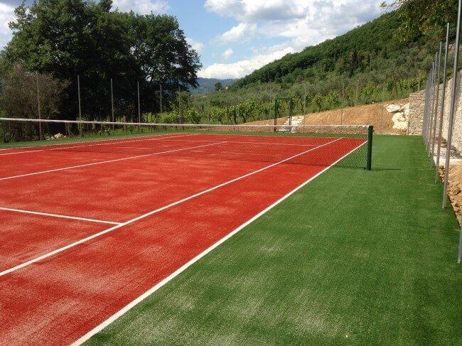 campo da tennis privato