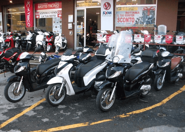 Scooter sales