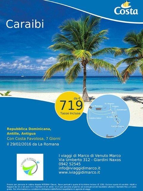 Crociere per Caraibi