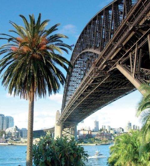 Sydney Honk Kong Fiji Oceano Pacifico
