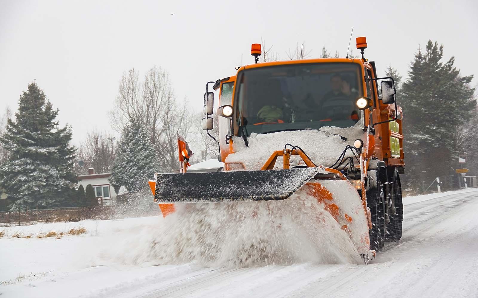 garantire un intervento per lo sgombero neve immediato e puntuale