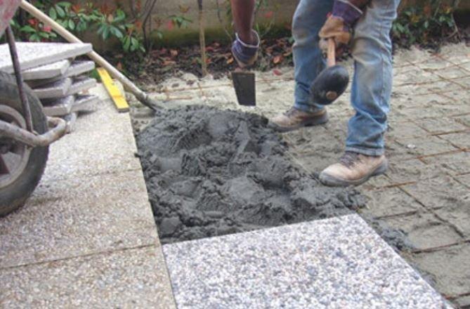 posa pavimentazione esterna