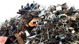 stoccaggio di materiale di demolizione