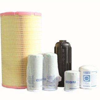filtri aria, filtri olio, filtri per gasolio