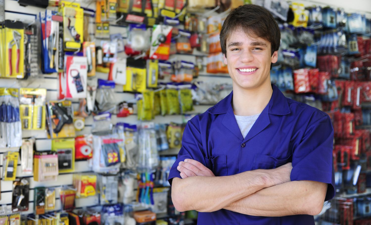 Image result for hardware store employee