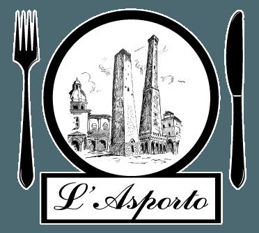 L'asporto - Logo