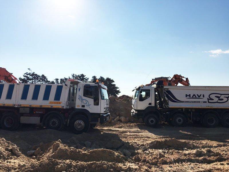 scavo e movimento terra ad acate