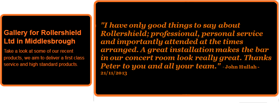 For garage doors in Middlesbrough call Rollershield Ltd