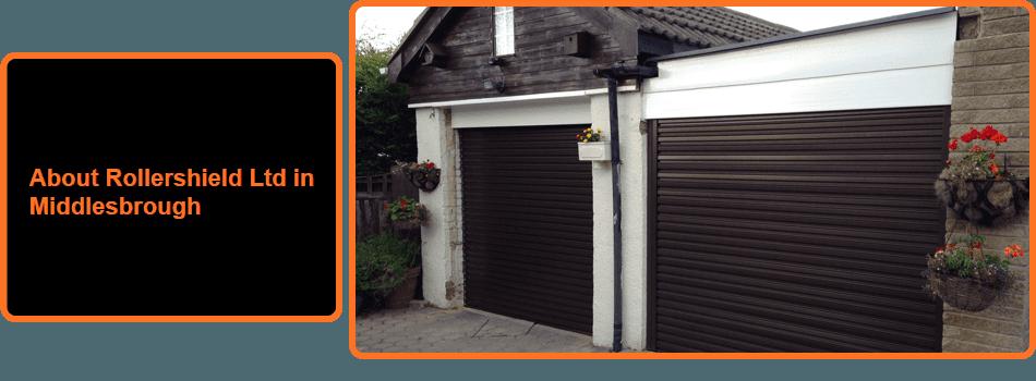 Two roller garage doors