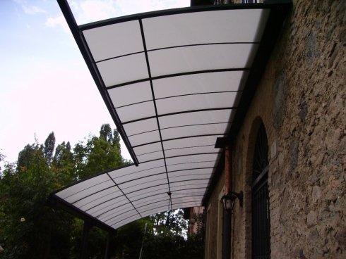 vista laterale parasole