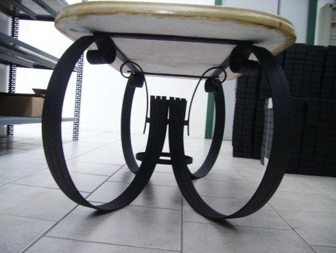 gambe di un tavolo