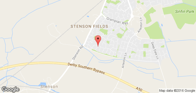 dog grooming - Derby - Supreme Clips - Location Map