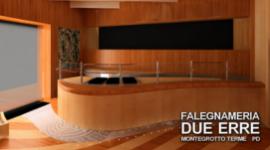 progettazione aree benessere in legno, realizzazione arredamento da esterno, banconi per alberghi