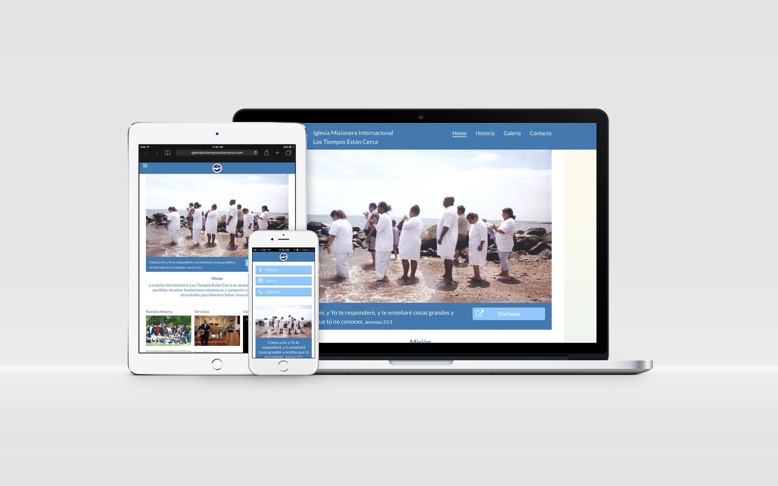 websites para iglesia internacional misionera los tiempo estan cerca