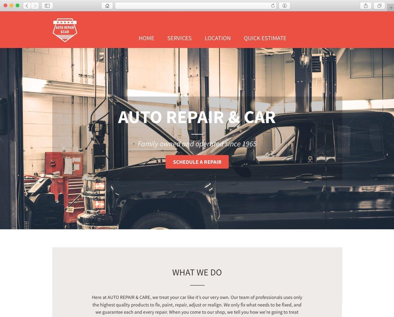 Website para negocio