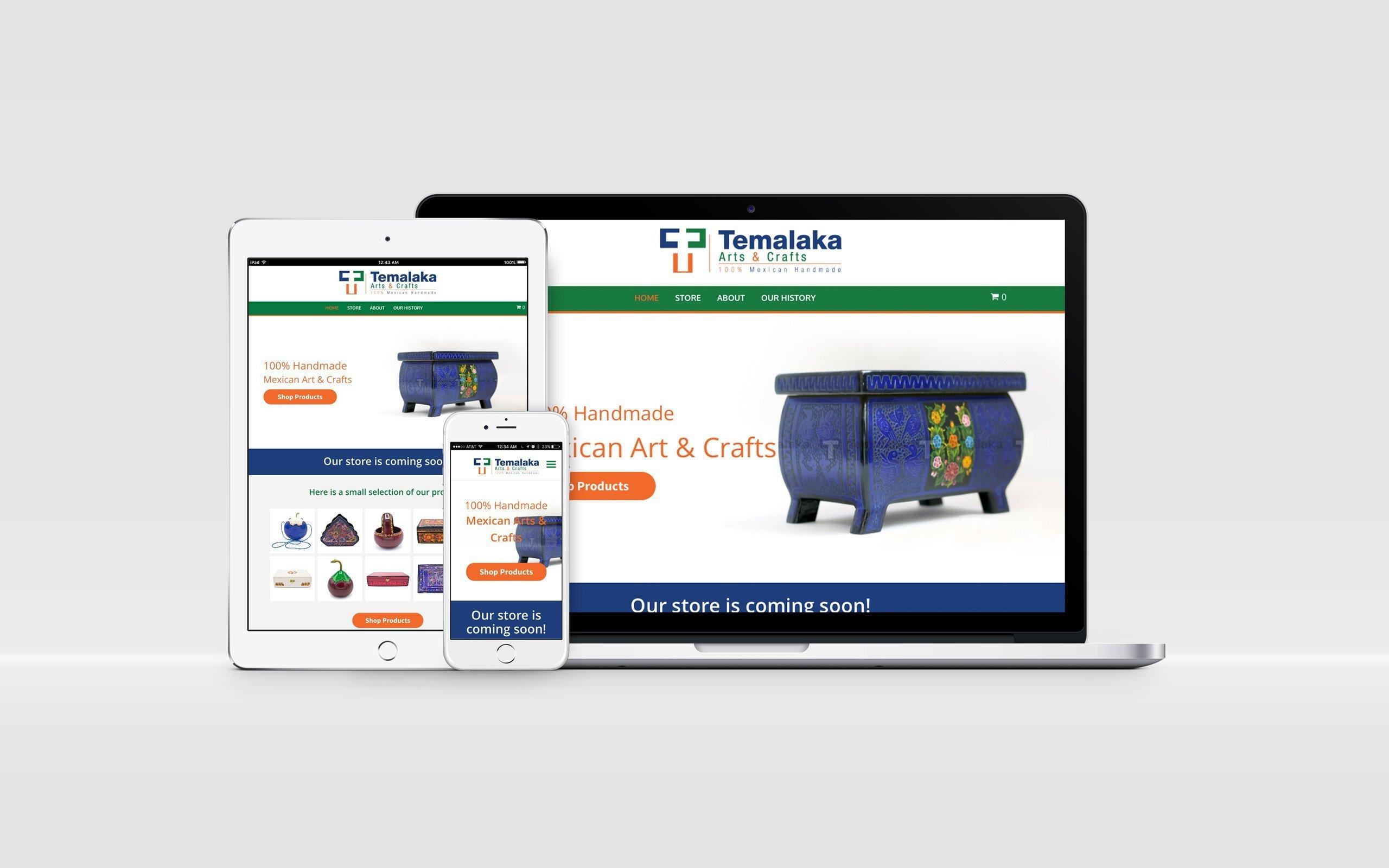 website para negocios tienda online