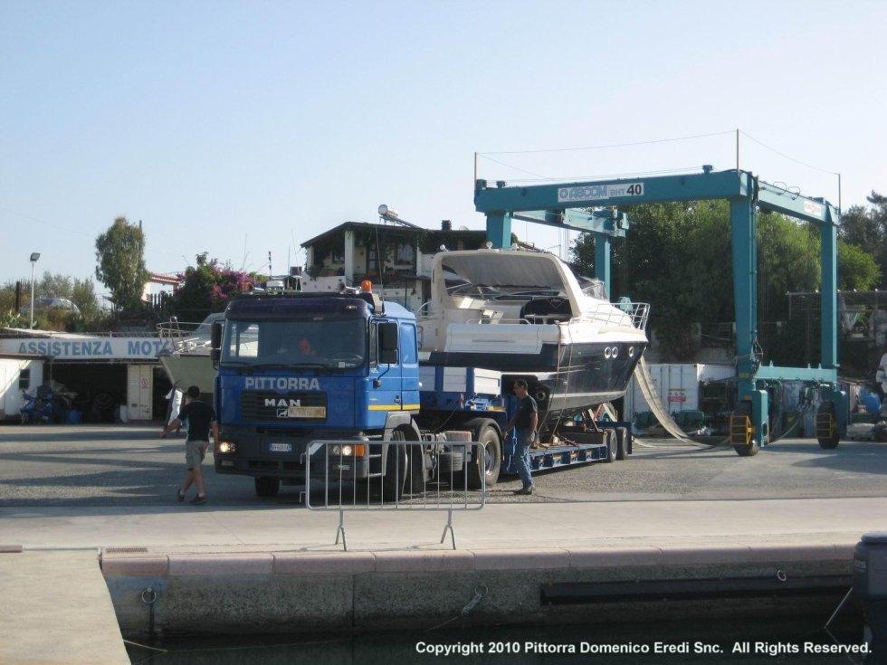 trasporto di mezzi pesanti
