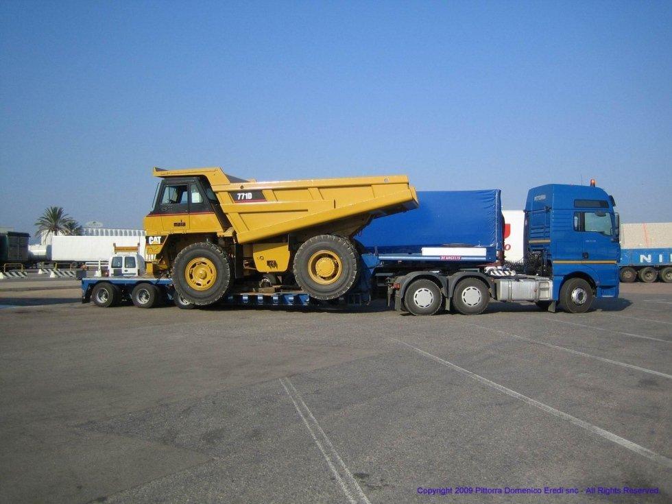 trasporto eccezionale di mezzi pesanti