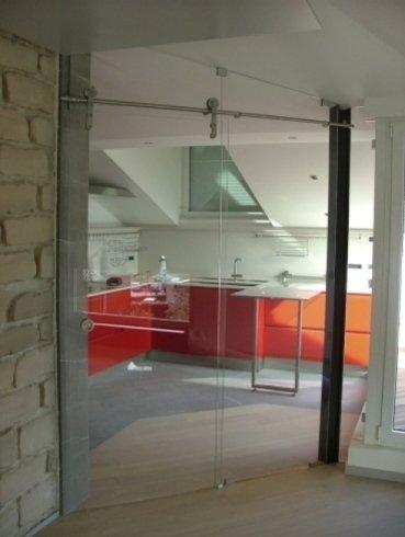 chiusure a vetro, porte design, porte scorrevoli a vetro