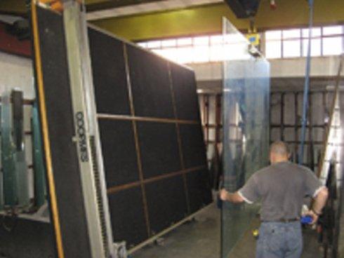 lavori in vetro, laboratorio vetro, piani in vetro
