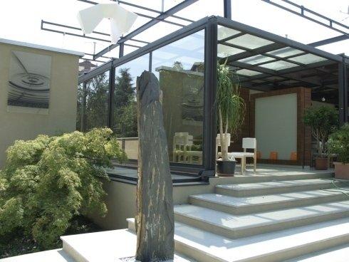 strutture in vetro, realizzazioni in vetro e metallo, costruzioni in vetro