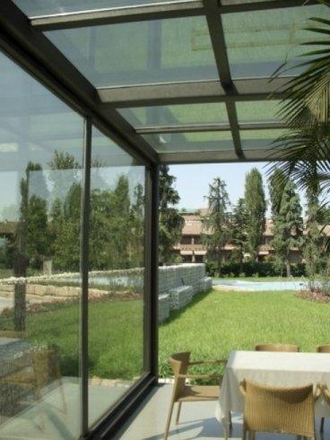 realizzazioni in vetro, strutture in vetro, coperture in vetro