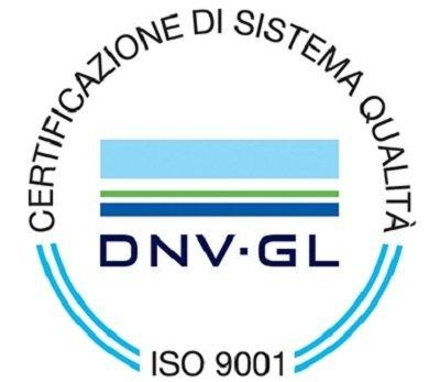DNV GL ISO 9001 Certification logo