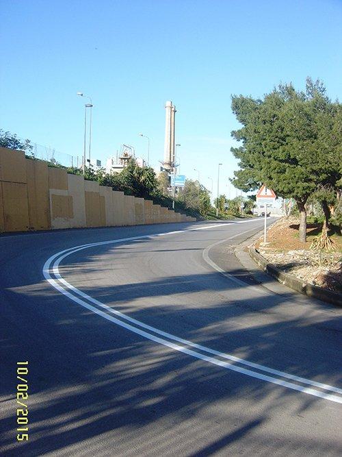 Segnaletica verticale  a Santa Maria Capua Vetere