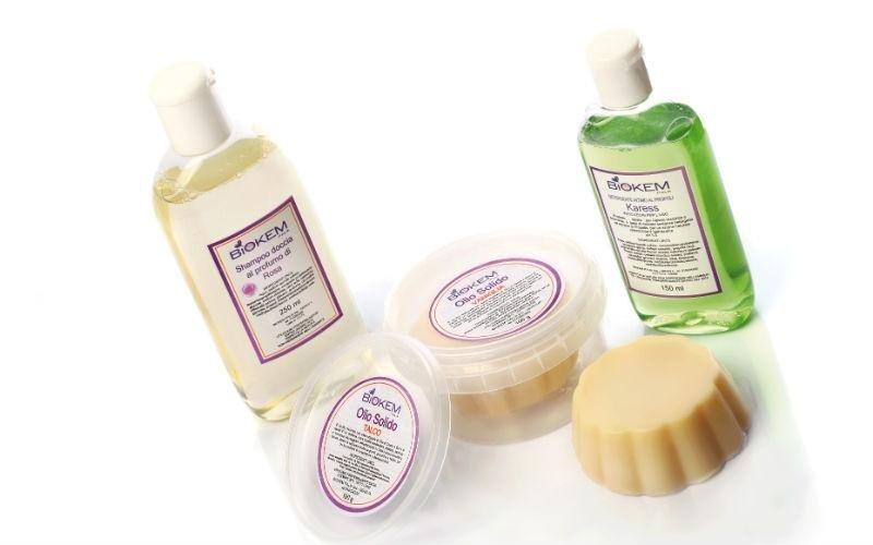 Shampoo e saponi naturali