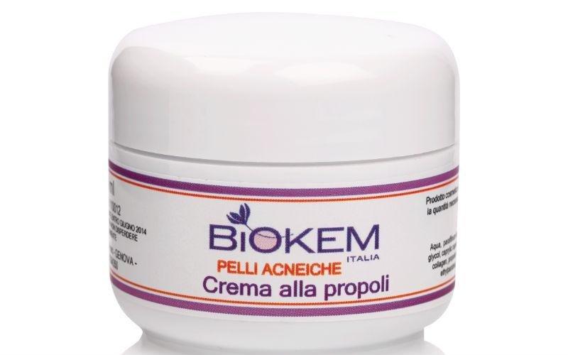 Crema propoli per pelli acneiche