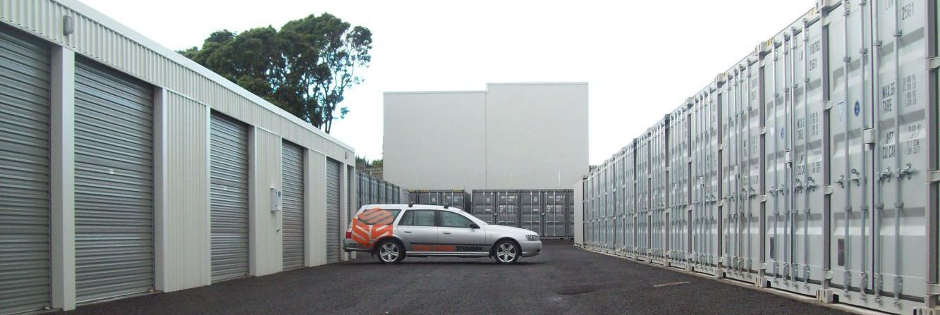 Strandon self storage in New Plymouth