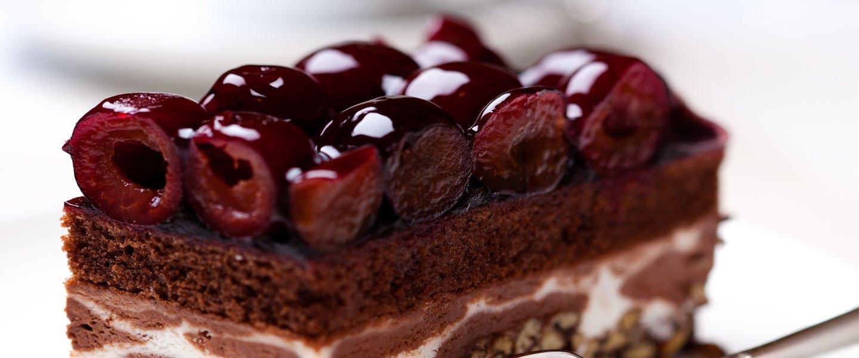 Torta cioccolato e amarene