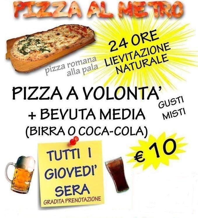 PIZZA A VOLONTA'