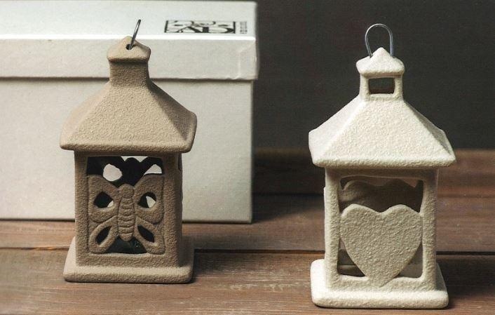 Lanterne in porcellana