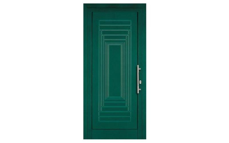 portoncino verde scuro