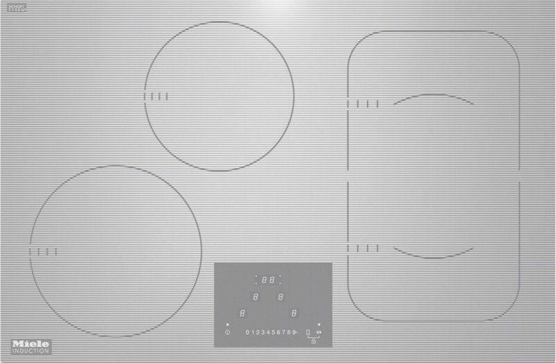 Miele 6349 Induction Cooktop