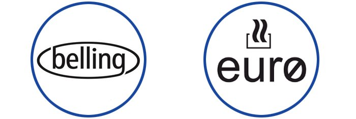 belling and euro logos