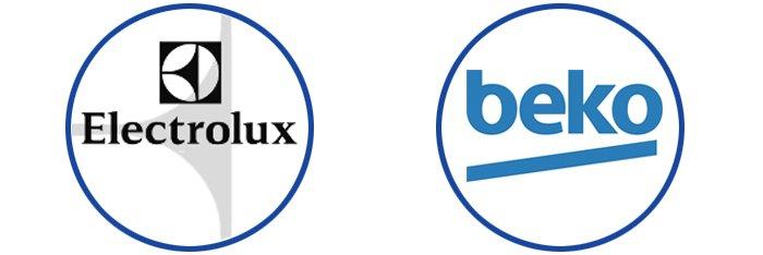 electrolux and beko logos
