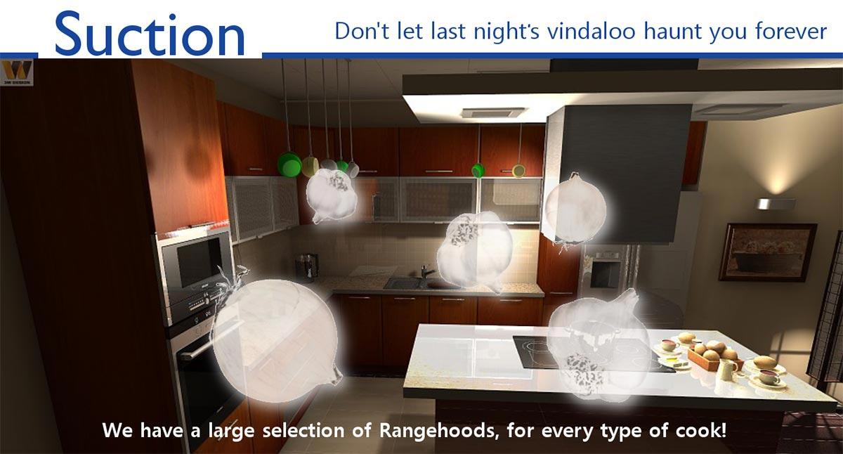 rangehood suction