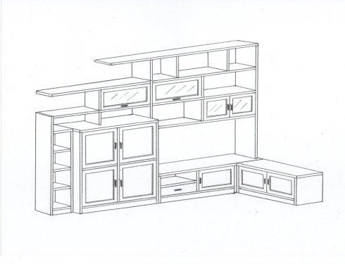 Progettazione mobili la spezia botti mobili - Progetto cabina armadio ...